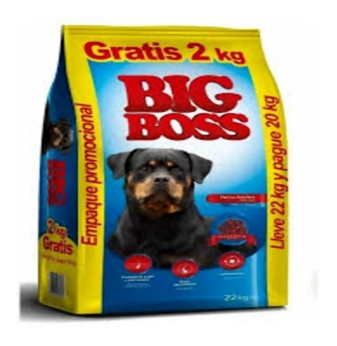 Imagen 1 de 2 de Big Boss Cachorro 20 + 2kg + Envio