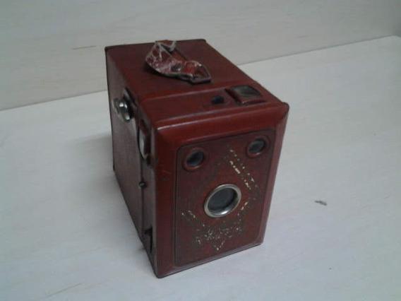 Maquina Fotografica Antiga Box American Roll Anos 30