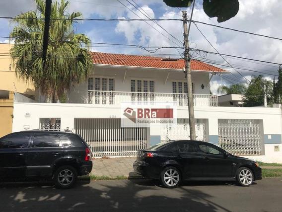 Casa Alugar Nova Campinas, 5 Dormitórios ( Sendo 2 Suítes ), 3 Salas, 6 Vagas De Garagem , Com Quintal R$ 6.500/mês - Nova Campinas - Campinas/sp - Ca0239