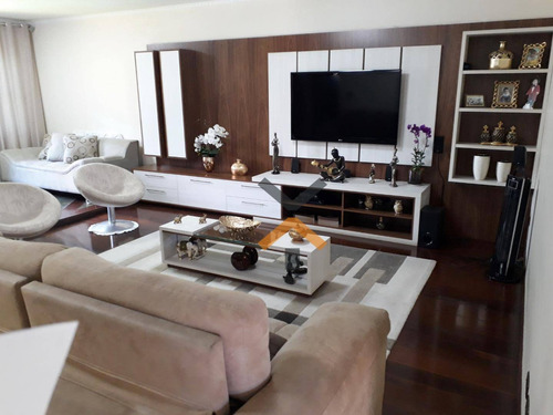 Casa Térrea Alto Padrão À Venda No Bairro Campestre - 240m², 3 Dormitórios E Amplo Quintal Por R$1.378.000  -santo André - Ca0040
