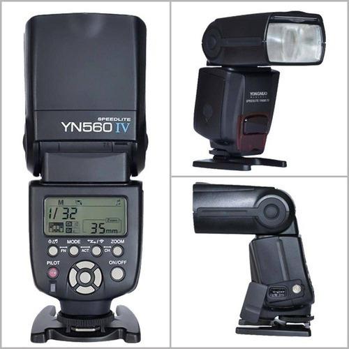 Flash Yongnuo Yn 560 Iv Para Canon Sony Nikon Universal
