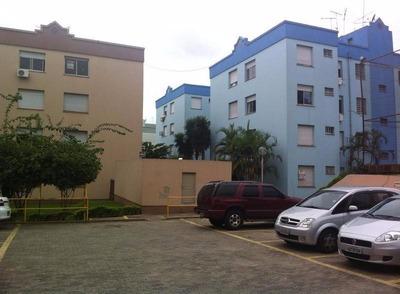 Apartamento Mobiliado Com 02 Dormitórios Em Porto Alegre-rs