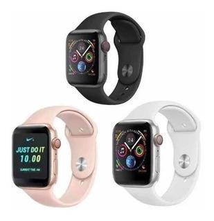Relógio Inteligente Iwo8 Plus 44mm Ios Android + Brindes