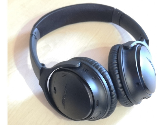 Fone Bose Quietcomfort 35 Ii Bluetooth Noise Canceling Preto