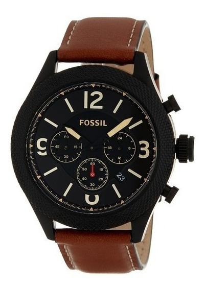 Relógio Masculino Fóssil Bq2148ie - 46mm Novo