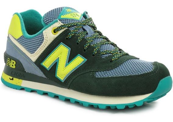 Zapatillas New Balance Wl574 Redwood Mujer Urbanas