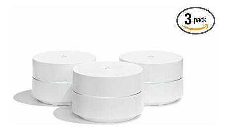 Google Wifi Sistema, 3-pack Router Repuesto P/ Whole Hom ©
