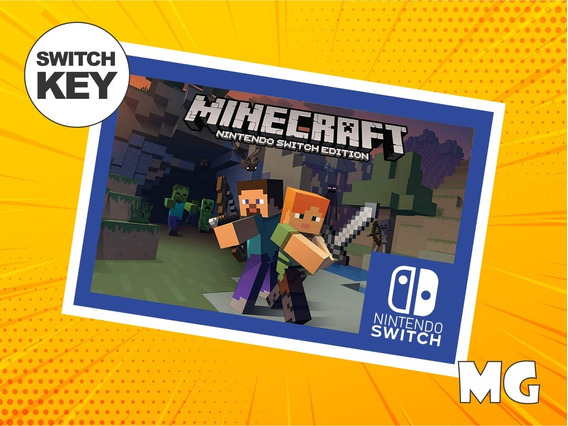 Minecraft - Jogo Nintendo Switch Digital