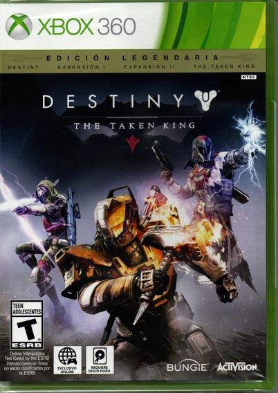 Destiny The Taken King Edição Lendaria Xbox 360 Mídia Física