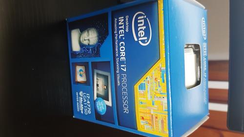Processador Intel Core I7-4770 3,90 Ghz + Cooler + Cx(usado)