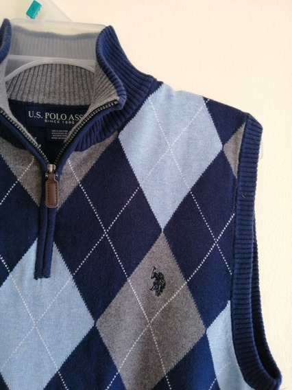 Sweater U.s. Polo Assn. Talla M 100% Algodón Y Original New