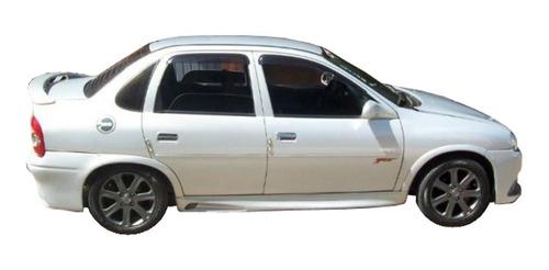 Cubre Zocalo Chevrolet Corsa Classic 95-10 Por Juego