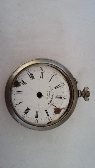 Caixa De Relógio De Algibeira (bolso ) Tiso Aprov. Peças