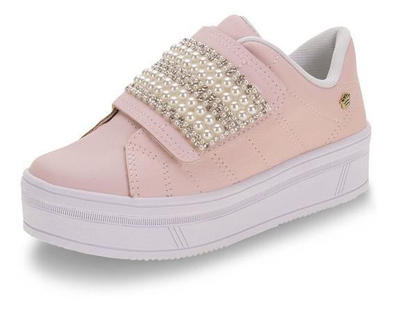 Tênis Infantil Feminino Pink Cats - V0422