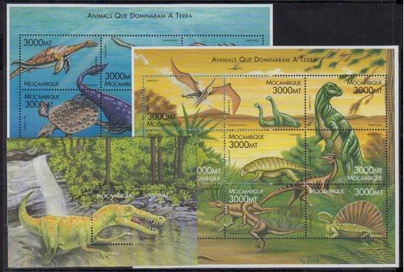 2002 Prehistoria- Dinosaurios - Mozambique Mnh
