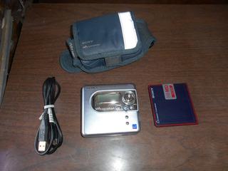 Sony Minidisc Hi-md Con Disco Hi-md Y Soporte Para Brazo