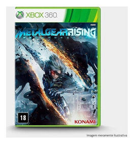 Metal Gear Rising Revengeance - Xbox 360 Novo Lacrado