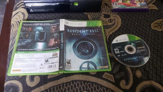 Resident Evil Revelations Mídia Física Para O Xbox 360 V1