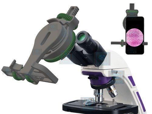 Suporte Para Microscópio Adaptar iPhone Samsung Lg Motorola Frete Grátis