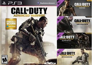 Call Of Duty Advanced Warfare + Pack 4 Mapas ~ Ps3 Digital