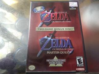 Juego De Gamecube Ref 05,the Legend Of Zelda Ocarina Of Time