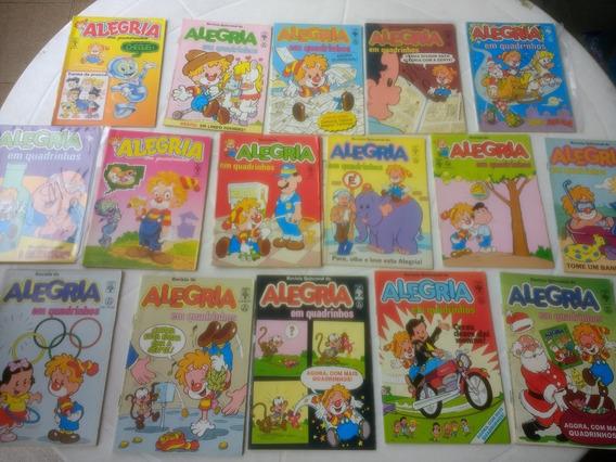 Alegria Em Quadrinhos - Vários Números - Editora Abril