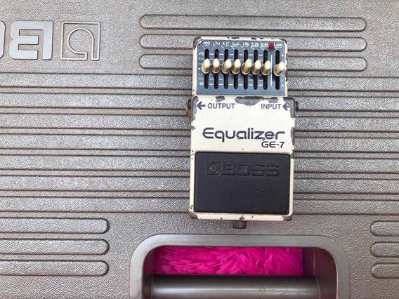Pedal Boss Ge-7 Equalizer Made In Japan Japonês Black Label