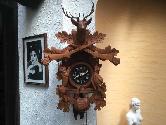 Reloj Cucú Cazadores Aleman Grande Cuerda