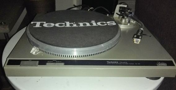 Toca Disco Technics Quartz - Direct Drive Sl-q2