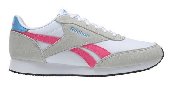 Zapatillas Reebok Moda Royal Cl Jogger Mujer Gr/gr