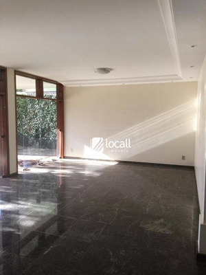 Casa Com 4 Dormitórios Para Alugar, 250 M² Por R$ 10.000/mês - Vila Redentora - São José Do Rio Preto/sp - Ca2038