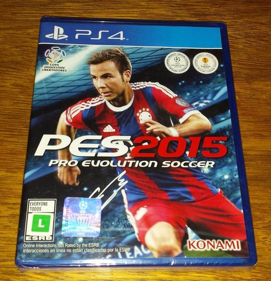 Pes 2015 Pro Evolution Soccer Playstation Licenciado Fifa