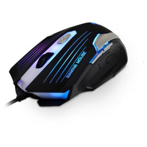 Mouse C3 Tech Gamer Mg 11bsi 2400dpi 6b Usb Preto / Prata.