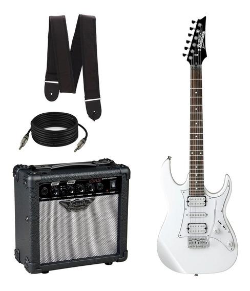 Guitarra Ibanez Grx50 + Cubo Strinberg Sg15 + Brindes