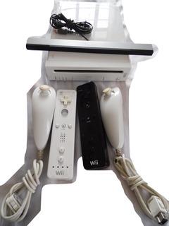 Nintendo Wii Con Su Caja+2 Controles+5juegos