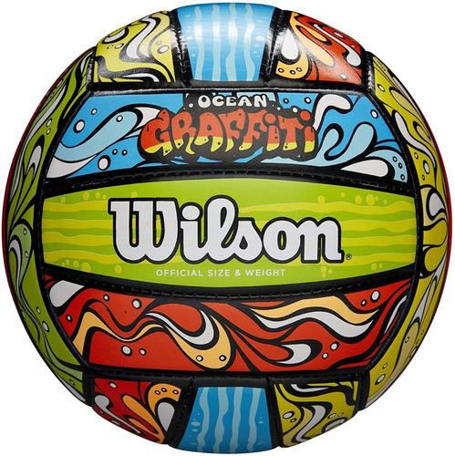 Imagen 1 de 3 de Pelota Voley Wilson Graffiti Playa Beach Volleyball Balon