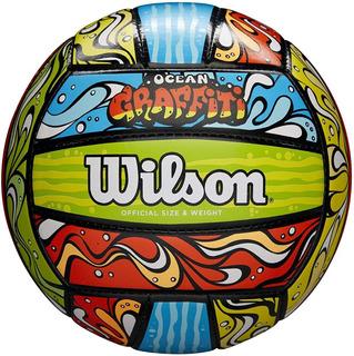 Pelota Voley Wilson Graffiti Playa Beach Volleyball Balon