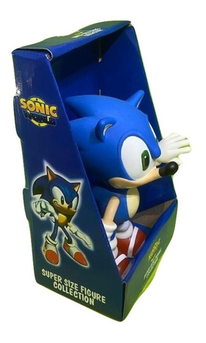Bonecos Grandes 25cm - Sonic Collection Caixa Original