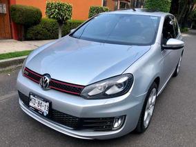 Golf Gti Turbo 211hp Dsg Piel Qc Rin 17 Factura De Agencia