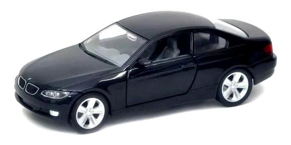 Miniatura Bmw 335i Coupe 2007 Preto Yat Ming 1/24