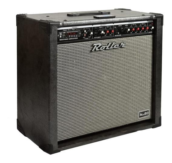 Amplificador Roller 80 W Multifuncion Envios A Todo El Pais