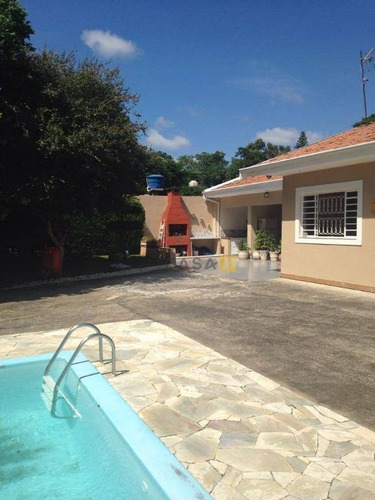 Casa Residencial À Venda, Portal Dos Nobres, Americana. - Ca0118