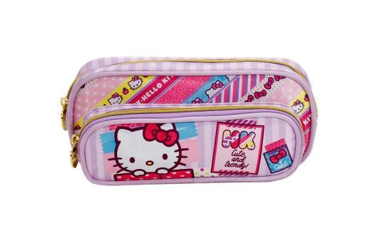 Estojo Duplo - Hello Kitty Washi Pink (xeryus)