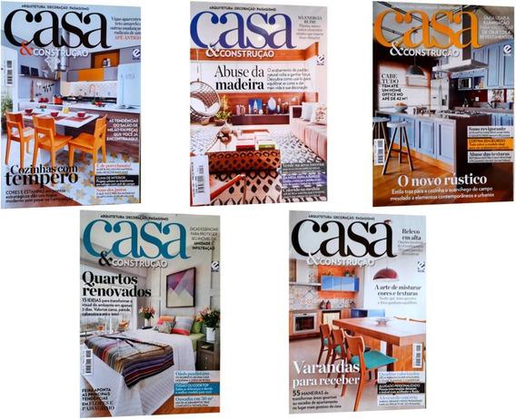 Kit Revistas Casa E Construção Dicas Ideias Decoração Inter