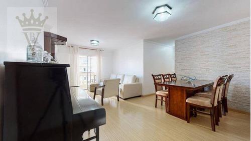 Apartamento Com 3 Dormitórios À Venda, 100 M² Por R$ 540.000,00 - Freguesia Do Ó - São Paulo/sp - Ap5465
