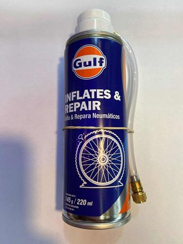 Imagen 1 de 1 de Inflador Y Reparador De Neumáticos Gulf 220ml Ionlux 1500361