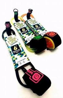 Pita Tabla Surf 6 Pies Freelife Leash Surfboard Profesional