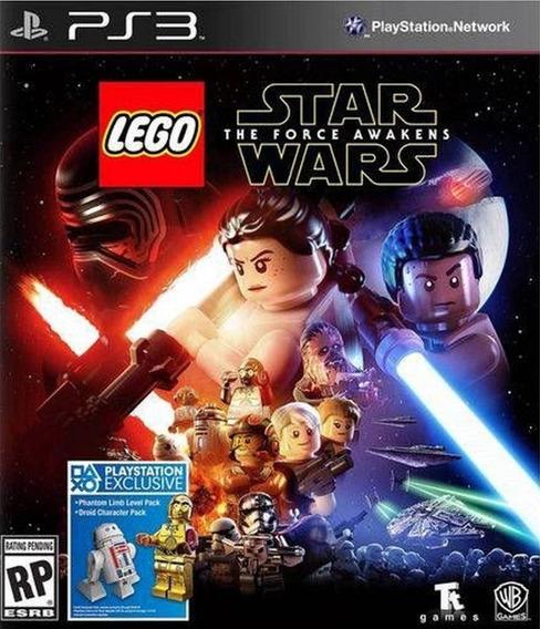 Lego Star Wars The Force Awakens Em Português Jogo Ps3