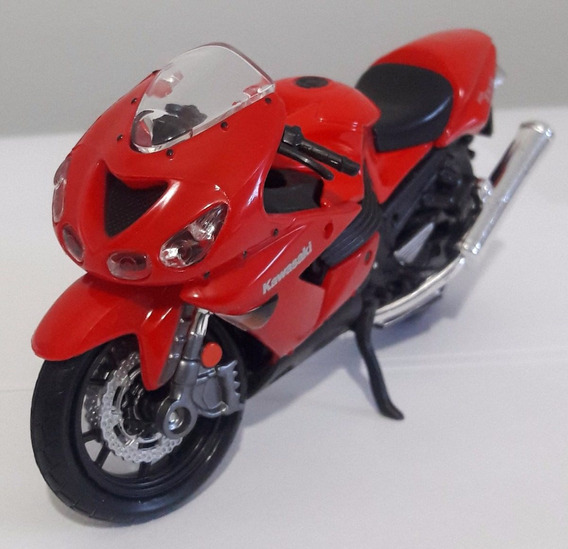 Miniaturas De Motos Maisto 1/18 Ninja Zx-14 Kawasaki