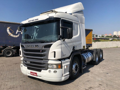 Scania P 360 6x2 Optcruise Ano 2014 Automatica Unico Dono